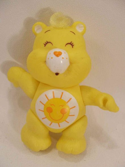 VINTAGE FUNSHINE CARE BEAR POSEABLE